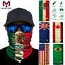 National Flag Neck Gaiter Face Mask Bandana Headwear Fishing UV Shield Balaclava