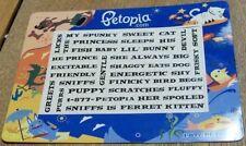 MAGNET Words PETOPIA.COM Cat Dog ~ Online Pet Store ~ Promotion ~ Petopia