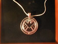 """Marvel Agents of S.H.I.E.L.D. vs HYDRA Pendant w/ 20"""" Necklace NEW In Gift Box"""