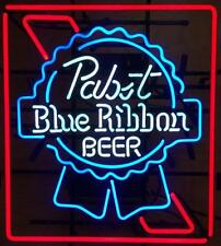 """New Pabst Blue Ribbon Beer Lager Bar Pub Neon Sign 19""""x15"""" Q183M"""