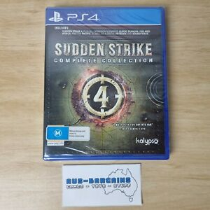Sudden Strike Complete Collection - NEW + Sealed - PS4 PlayStation 4 PAL