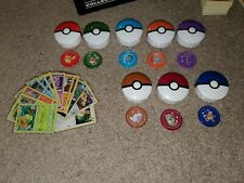 2019 McDonalds Pokemon Happy Meal Complete Set of 12 Cards And 8 Toys