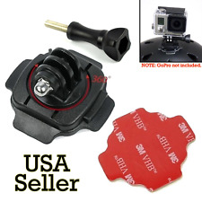 360 Helmet Adjust Mount Adapter Holder Sticker Knob for GoPro Hero 5 4 3+ 3 2 1