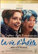 LA VIE D ADELE       COLLECTOR  2  DVD  TBE
