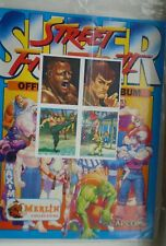 More details for merlin super street fighter 2 sealed album and 4 stickers free with match mag 94