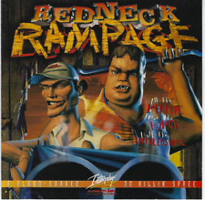 Redneck Rampage FPS 1st Person Shooter PC CD-ROM 1997 w Soundtrack Interplay