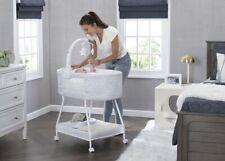 Baby Bassinet Crib Infant Newborn Portable Cradle Crib Nursery Furniture Mobile
