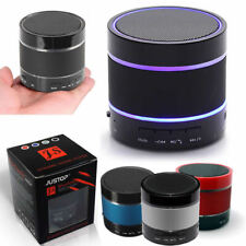 More details for bluetooth wireless speaker portable with led light loud for samsung iphone ipad