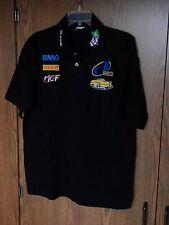 Brasilien Pick Up Racing Strick Shirt-Herren Größe Large Schwarz Pirelli MeF Binno CBA