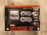Super Nintendo Entertainment System SNES Classic Edition Console - Brand New