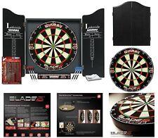 Winmau Lakeside World Championship Blade 5 Bristle Dartboard Cabinet & Darts Set