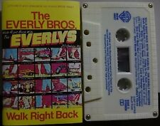 The Everly Bros.`Walk Right Back With the Everlys: 20 Golden Hits`Cassette 1975