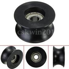 0840UU 8mm Groove Guide U Type Pulley Sealed Rail Ball Wheel Bearing 8*40*20.7mm