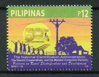Philippines 2019 MNH National Electrification Administration 1v Set Stamps