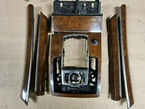 4L0864261B AUDI Q7 S LINE GEAR SHIFT & DOOR TRIMS SET wood imitation