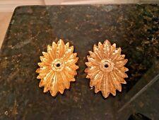 Bronze ormolu 2 pieces -Vintage Antique Gold color