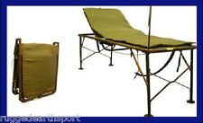 NEW IN BOX US Military Folding Field Hosptial Bed Cot Adjustable ICU Medic