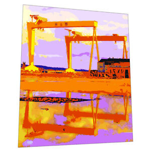 Harland And Wolfe Cranes Belfast Wall Art - Graphic Art Poster