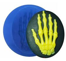 Skeleton Hand Mini Blue Silicone Mold for Fondant, Gum Paste, Chocolate, Crafts