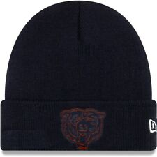 CHICAGO BEARS NFL FOOTBALL NEW ERA NAVY KNIT BEANIE WINTER SKI CAP HAT NWT!
