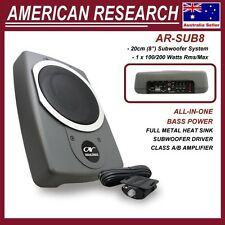 "American Research AR-SUB8 8"" Underseat Active Subwoofer System 100Watts"