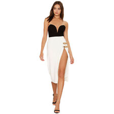 fc00bfaea7 Women Strapless Bodysuit Stretch Leotard Velvet Playsuit Top Bodycon  Backless  A
