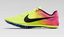 $150 NIKE ZOOM VICTORY ELITE 2 RACING TRACK SPIKE 12 VOLT YELLOW PINK 835998-999