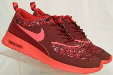 d036f2be0257 Nike Air Max Thea Print 599408-601 Maroon Athletic Running Shoes Women s ...