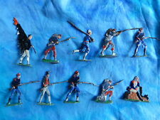 Plats d'étain HEINRICHSEN - Zinnfiguren - 10 soldats divers - Lot 3