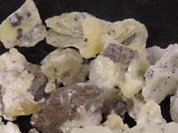 Yellow White Brucite Specimens Bulk Wholesale 100+ Carats