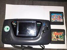 Sega Game Gear mit 2 Spielen