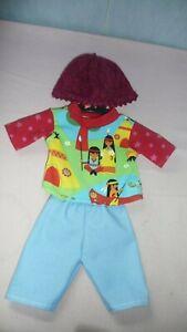 Puppenkleidung: Indianeralarm  für Babypuppe (weich) 43cm