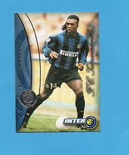 INTER CARDS 2000- numero 66- CLARENCE SEEDORF -NEW