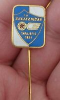 Football - Soccer team FK ZELJEZNICAR from Sarajevo - Bosnia - enameled pin