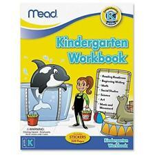 Mead Kindergarten Grade K Workbook, Reading, Writing, Math 320 Pgs (48082)