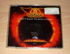 CD Maxi-Single - Aerosmith - I don't want to miss a thing (OST Armageddon)
