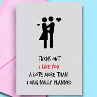 Birthday Card For Wife Funny Card for Girlfriend Cheeky Offensive Birthday Cards
