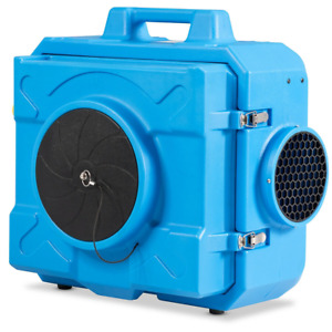 Industrial Commercial HEPA Air Scrubber Negative Air Purifier For 500-2000 sq.ft