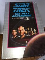 Symbiosis We'll Always Have Paris Star Trek The Collector's Edition TNG VHS