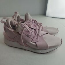 Puma Ignite Muse Satin II 368427 03 Pink Lace Up Training Womens Sneakers Sz 7.5