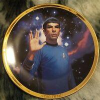 Star Trek 25th Anniversary Plate #2532 H Spock Hamilton Thomas Blackshear II