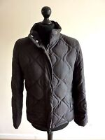 NEXT Ladies Down & Feather Quilted Winter Black Coat Jacket Size UK 8, EUR 36
