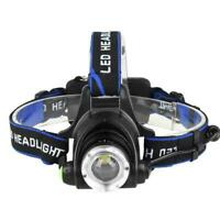 Flashlights Head Torch Fish Headlamp 350000LM Rechargeable Headlight LED T1Y5