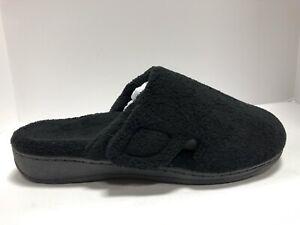 Vionic Indulge Gemma Womens Slippers Black Size 8 M