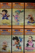 DRAGON BALL SUPER WCF ANIME 30TH VOL 1 HISTORICAL CHARACTER 6 PIECE FIGURE SET