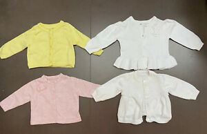 Baby Girl 0-3 Months Cardigans Bundle
