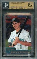 2000 topps traded chrome #t81 ADRIAN GONZALEZ rookie BGS 9.5 (9.5 9.5 9.5 9.5)
