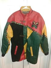 New listing Vintage Malcolm X Jacket Size Medium Large Shirt Rap Tee Black African 90's