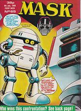 M.A.S.K. - #65 - 1988 Original UK-Comic zur Toyline DC Phantasie ist ihre Stärke