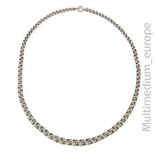 Vintage 835er Silber Panzer Kette Halskette silver necklace 30er bis 50er Jahre